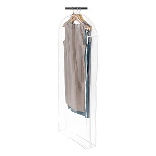 Richard's Homewares - Clearly Organized Frameless Long Dress Bag - 22' D x 54' H x 5' W - Clear