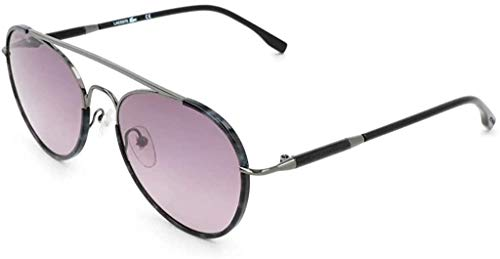 Lacoste L211s, Gafas para Mujer, Rose Metal Shiny, Estándar