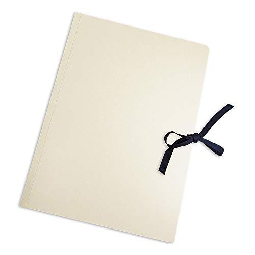 MarpaJansen 553.520-00 archiveringsmap - met band - bestand tegen veroudering, opslag van afbeeldingen, foto's en tekeningen - (voor DIN A2, 1 stuks, 500 g/m2) - wit, meerkleurig, één maat
