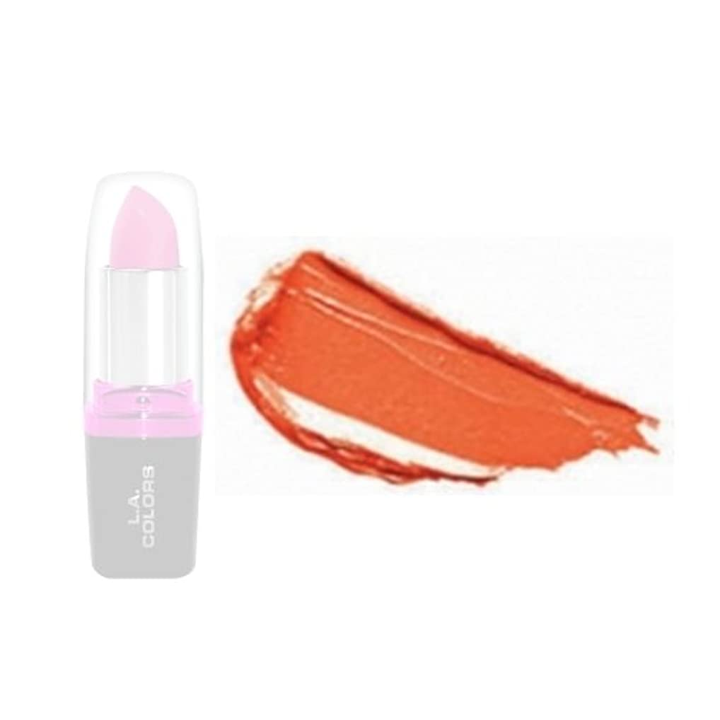 正確にテクニカルシーフード(3 Pack) LA Colors Hydrating Lipstick - Orange Love (並行輸入品)