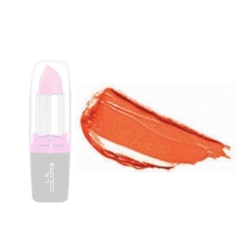殉教者相続人不安定な(6 Pack) LA Colors Hydrating Lipstick - Orange Love (並行輸入品)