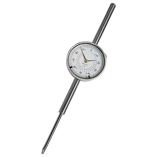 MH GLOBAL 0-2 Inch Dial Indicator Travel Dial Indicator .001 Grad Lathe Precision Tool