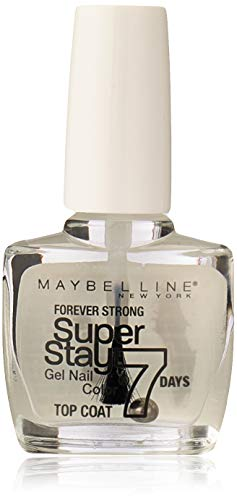 Maybelline New York SuperStay 3D Efecto Gel Top Coat, Esmalte de Uñas