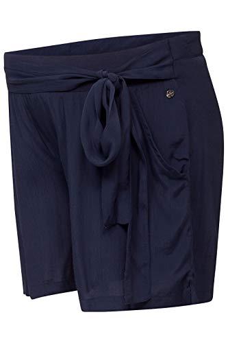 ESPRIT Maternity Damen Bermuda UTB Umstandsshorts, Blau (Night Blue 486), (Herstellergröße: 40)