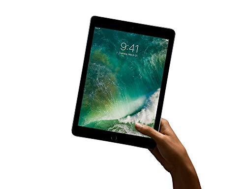 Apple iPad 5, 32GB, 3G 4G, Grigio Siderale, Touch ID, Retina Bluetooth Webcam, Tablet 24.6 cm (9.7') 2048x1536 pixels, iOS 10 (Ricondizionato)