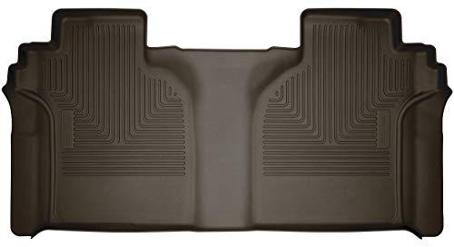 Husky Liners 54200 X-Act Contour 2º Asiento Alfombrilla (Cobertura Completa) se Adapta a Chevrolet Silverado/GMC Sierra 2500/3500 2019 2020 Crew Cab-con Caja de Almacenamiento de...
