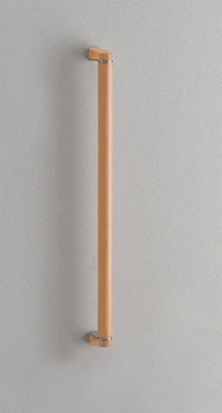 TOTO トイレ アクセサリー 天然木手すり 62シリーズ 【YHB402S】型 (ダルブラウン)