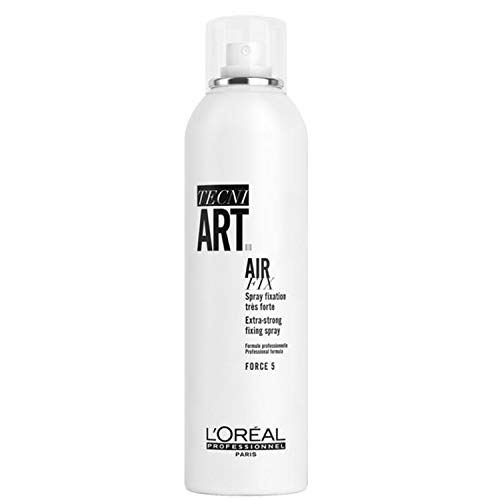 L'Oréal Professionnel TecniART Air Fix, Extra-strong fixing spray Haarspray für extra starken Halt, Haltegrad 5, 400 ml
