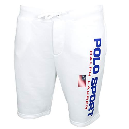 Polo Ralph Lauren Fleece Polo Sport Shorts White S