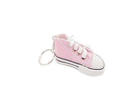 Familienkalender Sneaker Baby Kinder süßer Kleiner Schuh Schlüsselanhänger Anhänger rosa | Geschenk | Mutter | Geburt | Kind