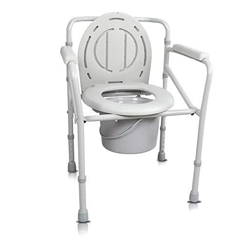 toiletstoel toiletstoel opvouwbaar ouderlijk huis zwanger bed hoofd volwassen verbreed kussen commode stoel A