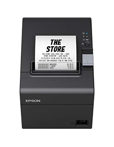 Epson TM-T20III Thermodrucker, 250 mm/s 203 PPP, Schwarz