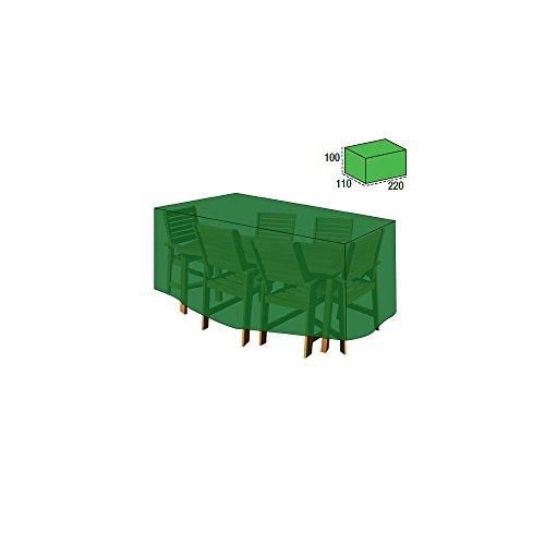 PAPILLON 8327015 Funda Cubre Mesa/Conjunto 100x110x220 cm