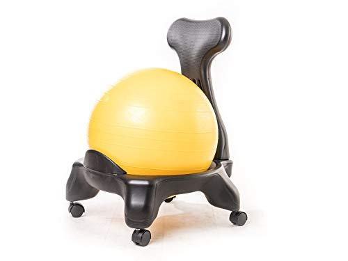 Kikka Active Chair - Silla ergonómica con pelota de ejercicios