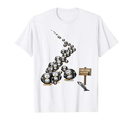 Bait and Switch Penguin Scam Fun Cute T Shirt Men Women Kids