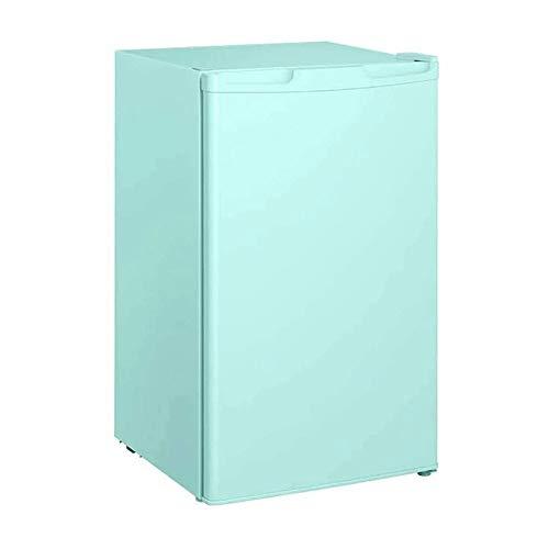 Qin Una Sola Puerta Mini Nevera con congelador for el Dormitorio de Oficina, extraíble refrigerado y congelado Micro bajo Nivel de Ruido de la Cerveza imán de Habitaciones