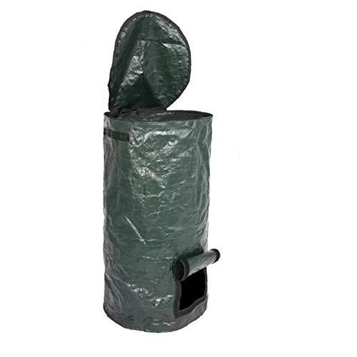 El compost bolsa de eliminación Jardín compostador Bin PE hecho en casa Orgánica del Ambiente Fermento de residuos para el patio