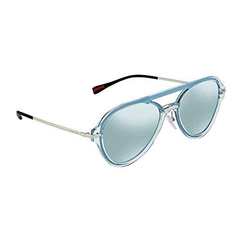 Prada LINEA ROSSA 0PS 04TS Gafas de sol, Azure, 57 para Hombre