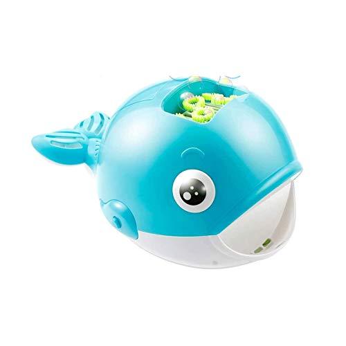 Bdesign Burbuja eléctrico de los niños máquina que sopla de ballena automática Burbujas que soplan burbujas juguete máquina de los niños juguete de regalo for la boda del partido Juegos fiesta de cump