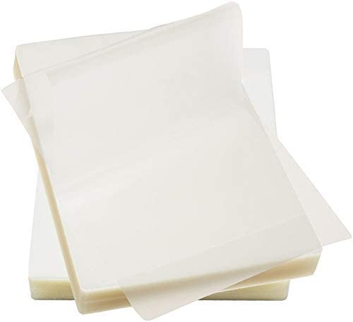 Immuson Thermal Laminating Pouches 8.9 x 11.4, 3Mil Thickness, Crystal Clear Finish, 1000 Pack