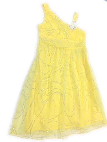 Amy's Closet Girls Dresses Yellow Size 12 One Shoulder