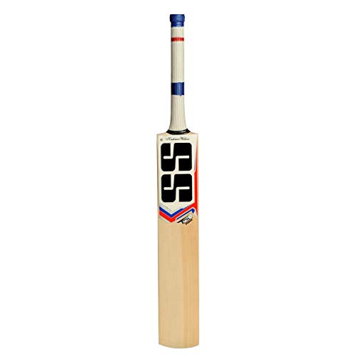 SS Kashmir Willow Leather Ball Cricket Bat, Exclusive Cricket Bat for Adult Full Size with Full Protection Cover (T20 Power)