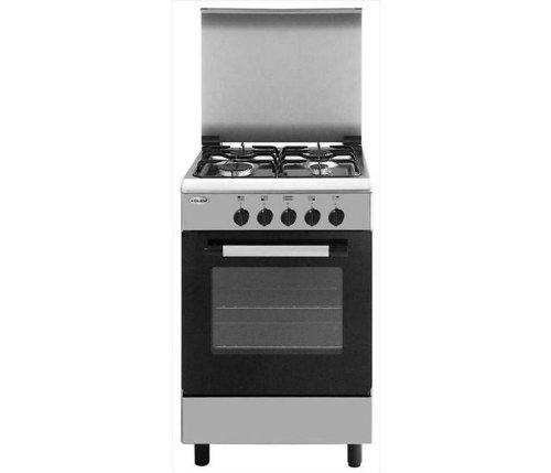 Glem AE55MI3 Libera installazione Piano cottura a gas A Acciaio inossidabile cucina