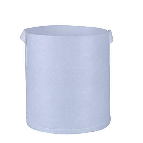 ObestChoose Round Fabric Pots Plant Pouch Root Container Cultivation Pot Planting Grow Bag Gardening Supplies (M)
