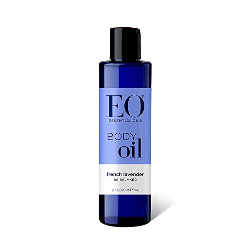 EO Body Oil: Massage and Moisturize, French Lavender, 8 Ounce