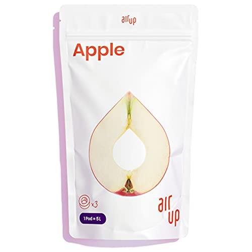 air up® Pods 3er Pack Apfelgeschmack - Für aromatisiertes Wasser - 0 Zucker 0 Kalorien - Nur für air up® Trinkflasche - Ausreichend für 15 l Leitungswasser oder Sprudelwasser