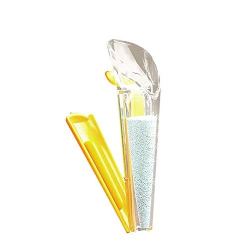 Onlyonehere Taza de medición de levadura para hornear levadura tazas de medición con clip de sellado de levadura seca de plástico clip para cocina Gadget panadería hogar restaurante