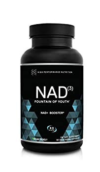 HPN NAD+ Booster  NAD3  Anti Aging Cell Booster NRF2 Activator Nicotinamide Riboside Alternative True NAD Supplement Cell Regenerator Provides Natural Energy Longevity and Cellular Health  60 Veggie Capsules 1 Month Supply