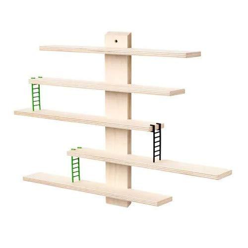 LUSTIGT IKEA Wandregal für Kinderzimmer; (37x37cm)