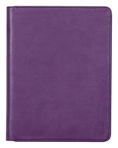 RHODIA 168105C - Carpeta portadocumentos de rodiarama morado para bloc de notas...