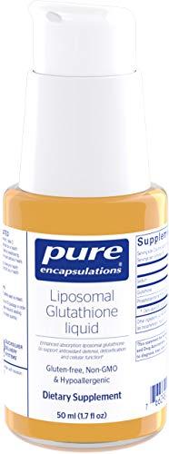 Pure Encapsulations - Liposomal Glutathione Liquid - Enhanced Absorption Liposomal Glutathione to Support Antioxidant Defense, Detoxification and Cellular Function - 1.7 fl. oz.