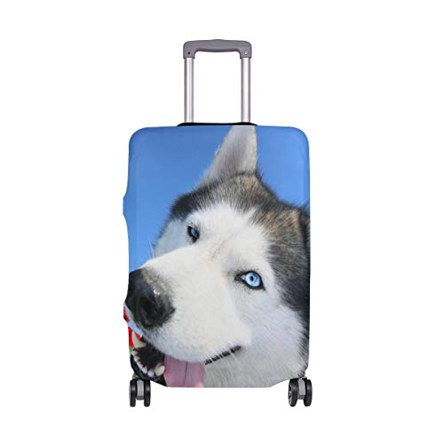 Maleta con Equipaje de Viaje de Traveller Siberian Husky Poppy Travelers con Ruedas giratorias...