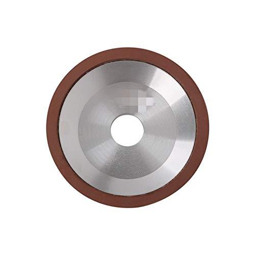 Calidad superior Rueda de molienda 75-150mm Diamante Rueda de muelle de la rueda Disco de molienda para cortador de fresado Sacapuntas de herramientas Molinder Accesorio para eliminar xido, desbarbad