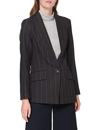 Sisley Jacket Giacca, Grey Pinstripe 903, 54 Donna