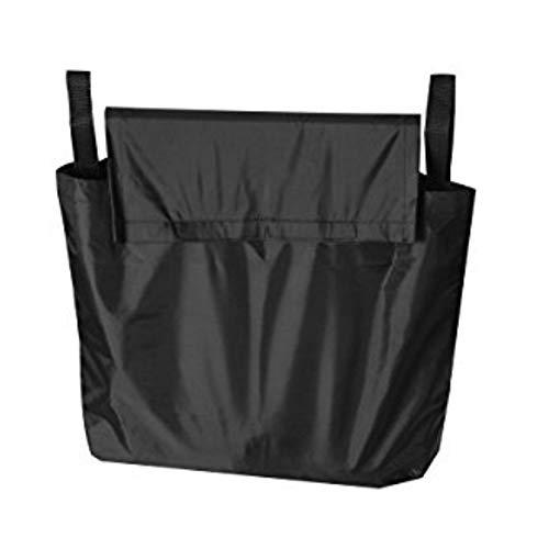 LNIMIKIY Rollator Tasche waschbar Oxford-Stoff Reise Hände frei Tragen Wasserdicht Hängen Lagerung Rollstuhl Universal Verstellbarer Gurt schwarz langlebig, Wie abgebildet, Free Size
