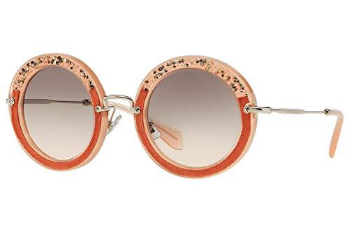 Miu Miu Unisex MU08RS Sonnenbrille, Rosa (Pink TV14K0), One size (Herstellergröße: 49)