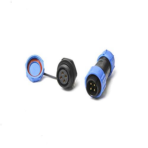 Conectores a prueba de agua SP21 IP68 Circular Socket 21mm 2Pin 3Pin 4Pin 5Pin 7Pin 9Pin 12Pin Enchufe Multipolo