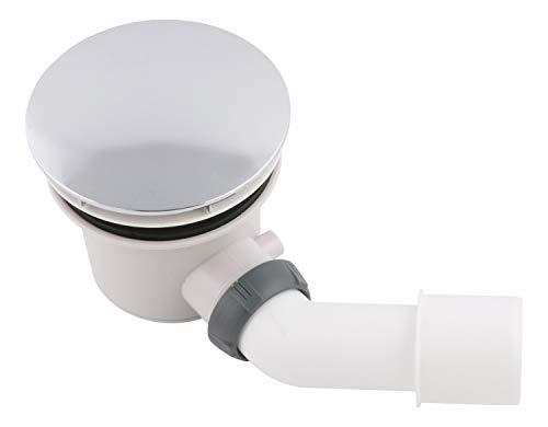 Calmwaters® - Ablaufgarnitur für bodengleiche Duschwannen mit Ablauf-Durchmesser von 90 mm und Abdeckung - 31PM3303