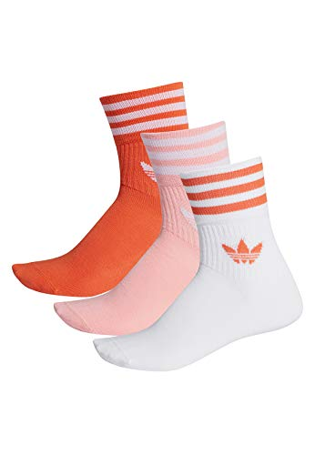 adidas Originals Socken Doppelpack MID CUT CRW SCK FM0638 Mehrfarbig, Size:35/38
