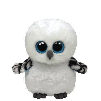 TY BEANIE BOOS SNOW OWL (SPELLS)