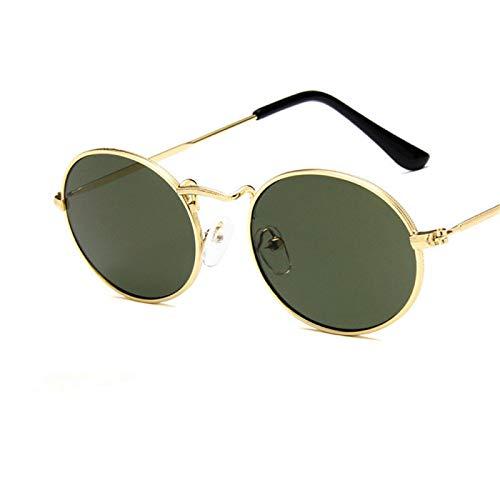 Único Gafas de Sol Sunglasses Nuevo Lujo Retro Pequeño Marco De Metal Steampunk Gafas De Sol Mujeres Hombres Vintage Gaf