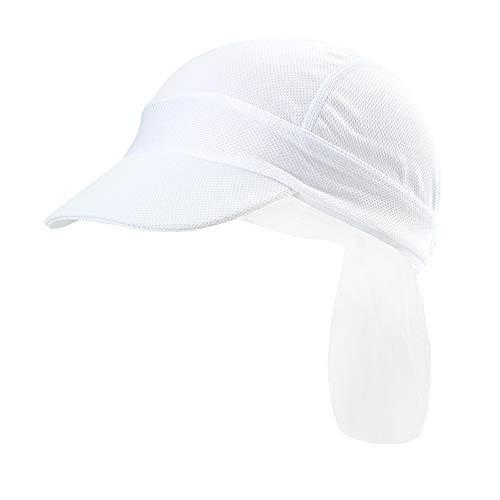 RUIXIB Outdoor Bandana Cap Kopftuch mit Schirm Sommermütze Piratenmütze Kappe Hut Atmungsaktive Quick-Dry UV Schutz Verstellbar Kappe Fahrrad Radfahren Radsport Motorrad Mützen für Männer Frauen