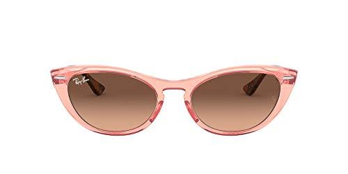 Ray-Ban Nina RB4314N-1282A5 Gafas de sol, Transparente/Pink, 54 Unisex