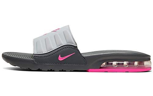 Nike Women 's Air Max Camden Slide Sandals, Dark Grey/Pink Blast-cool Grey-wolf Grey, 7