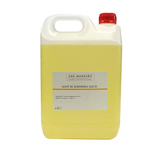 ANA MANDARA - Aceite de Almendras dulces - 5 litros. HIDRATACIÓN | MASAJES | PORTADOR