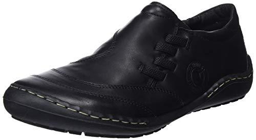 Coronel Tapiocca Piel Sport Señora, Zapatillas Sin Cordones Para Mujer, Negro (Negro 0), 37 Eu